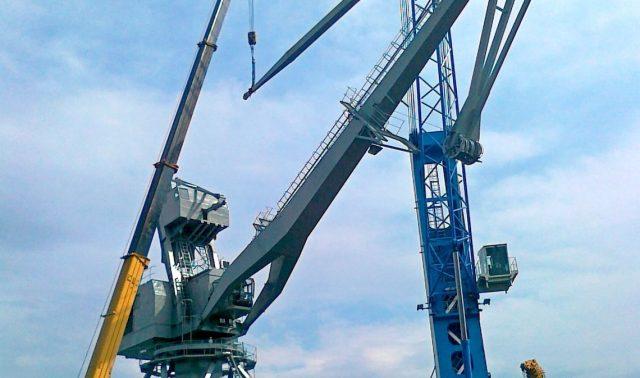 Λιμενικοί Γερανοί και Συντήρηση Εξοπλισμού Πλοίων